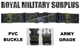 Canadian Digital Pistol Belt - CADPAT Temperate Woodland