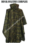 Canadian Digital Poncho Rain - CADPAT Temperate Woodland