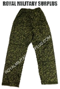 Canadian Digital Rainwear Pants - CADPAT Temperate Woodland