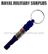 Whistle Survival Emergency Blue