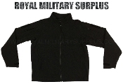 Army Military jacket soft shell - Black Camouflage