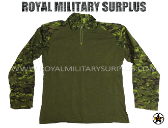 Canadian Digital Tactical Combat Shirt - CADPAT Temperate Woodland