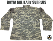 US Army Military Digital Combat Shirt - ACU Camouflage Universal Pattern