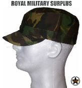 UK British Army Field Cap - DPM Woodland Disruptive Camouflage