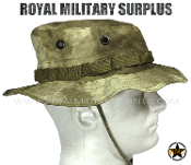 Army Military Boonie Hat - A-TACS AU Camouflage Desert Arid Pattern