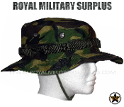 UK British Army Boonie Hat - DPM Woodland Disruptive Camouflage