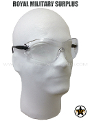 Tactical Glasses - Military Protective/Integral Lens - CLEAR