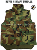 US Army Ranger Vest - US Woodland Camouflage M81 Pattern