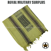 Army Military shemagh keffiyeh - Desert Tan Camouflage Arid Pattern