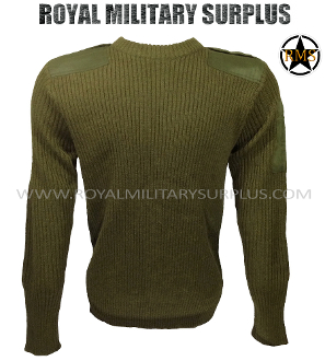Army Military tactical commando sweater - OD Green Camouflage