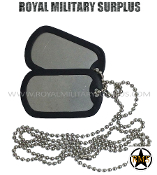 usa Army Military dog tag - steel chain