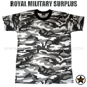 City Tactical Military T-Shirt - Urban Camouflage Tactical Pattern