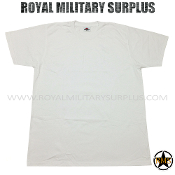 Army Military winter t-shirt artic - White Camouflage