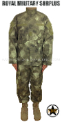 Army Military Tactical Concealment Combat Uniform - A-TACS AU Camouflage Desert Arid Pattern