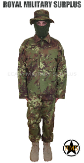 Italian Disruptive Camouflage Trooper Kit Uniform - VEGETATO Italy Army