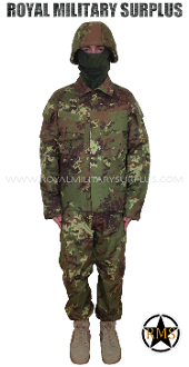 Italian Disruptive Camouflage Infantry Kit Uniform - VEGETATO Italy Army