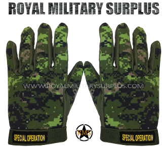 Canadian Digital Tactical Gloves - CADPAT Temperate Woodland