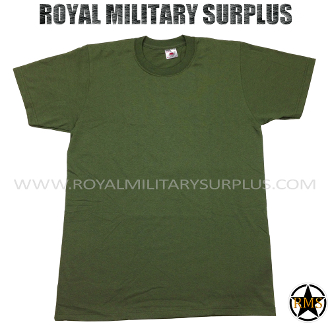 canada Army Military t-shirt - OD Green Camouflage