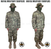 Military Army Trooper Kit Uniform - MultiCam Camouflage Multi-environment Pattern
