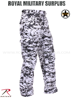 City Digital Combat Pants - Urban Camouflage Tactical Pattern