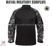 US Marines Digital Subdued tactical combat shirt - MARPAT Camouflage Subdued Pattern