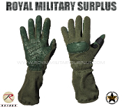 Army Military tactical gloves special forces - OD Green Camouflage