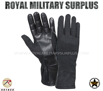Army Military tactical gloves gi - Black Camouflage