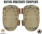 Military Army Knee Pads Protection - MultiCam Camouflage Multi-environment Pattern