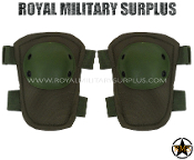 Army Military elbow pads protection - OD Green Camouflage