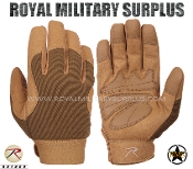 Army Military Tactical gloves Mechanics - Coyote Camouflage Desert Arid Pattern