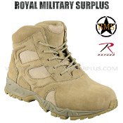 Army Military boots commando mountaineer - Desert Tan Camouflage Arid Pattern