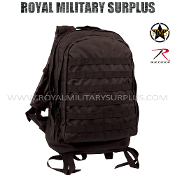 Army Military Tactical Backpack 3 Day Assault Molle - Black Camouflage