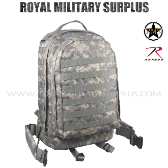 US Army Military Digital Backpack 3 Day Assault - ACU Camouflage Universal Pattern