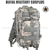 US Army Military Digital Backpack Tactical Assault - ACU Camouflage Universal Pattern