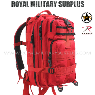 Backpack - Tactical Assault - RED (Emergency/Survival)