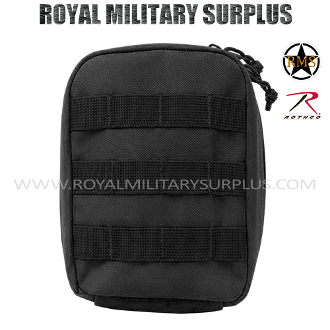 Army Military medic pouch molle - Black Camouflage