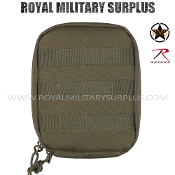 Army Military medic pouch molle - OD Green Camouflage