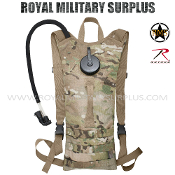 Military Army Hydration Pack - MultiCam Camouflage Multi-environment Pattern