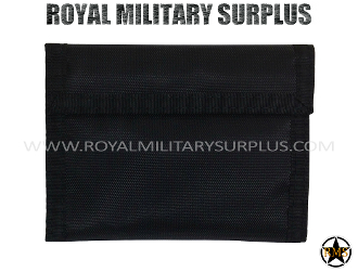 Army Military tactical wallet - Black Camouflage