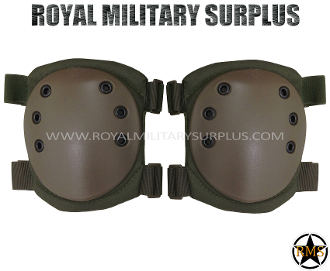 Army Military knee pads protection - OD Green Camouflage