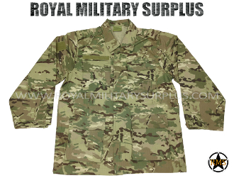 Military Army Combat Shirt - MultiCam Camouflage Multi-environment Pattern