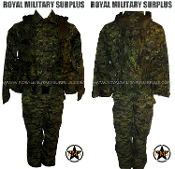 Canadian Digital Heavy Kit Uniform - CADPAT Temperate Woodland