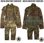 Italian Disruptive Camouflage Commando Kit Uniform - VEGETATO Italy Army