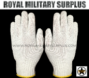 Army Military winter tactical work gloves - White Camouflage