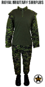 Canadian Digital Tactical Uniform - CADPAT Temperate Woodland