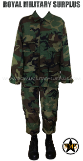 Combat Uniform - US WOODLAND (M81 Pattern)