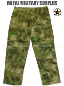 Combat Pants - A-TACS FG Camouflage Foliage Green Pattern
