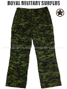 Combat Pants - Canada Army - CADPAT TW Camouflage Pattern