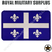 Patch - Flag (Rubber) - Quebec Tactical (Colors)