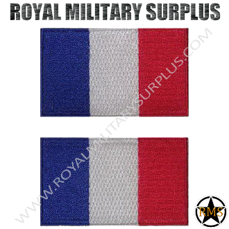 Patch - Flag Set (National) - France